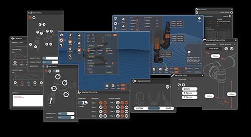Reach Control New Interface