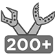 Over 200 robotic manipulators sold