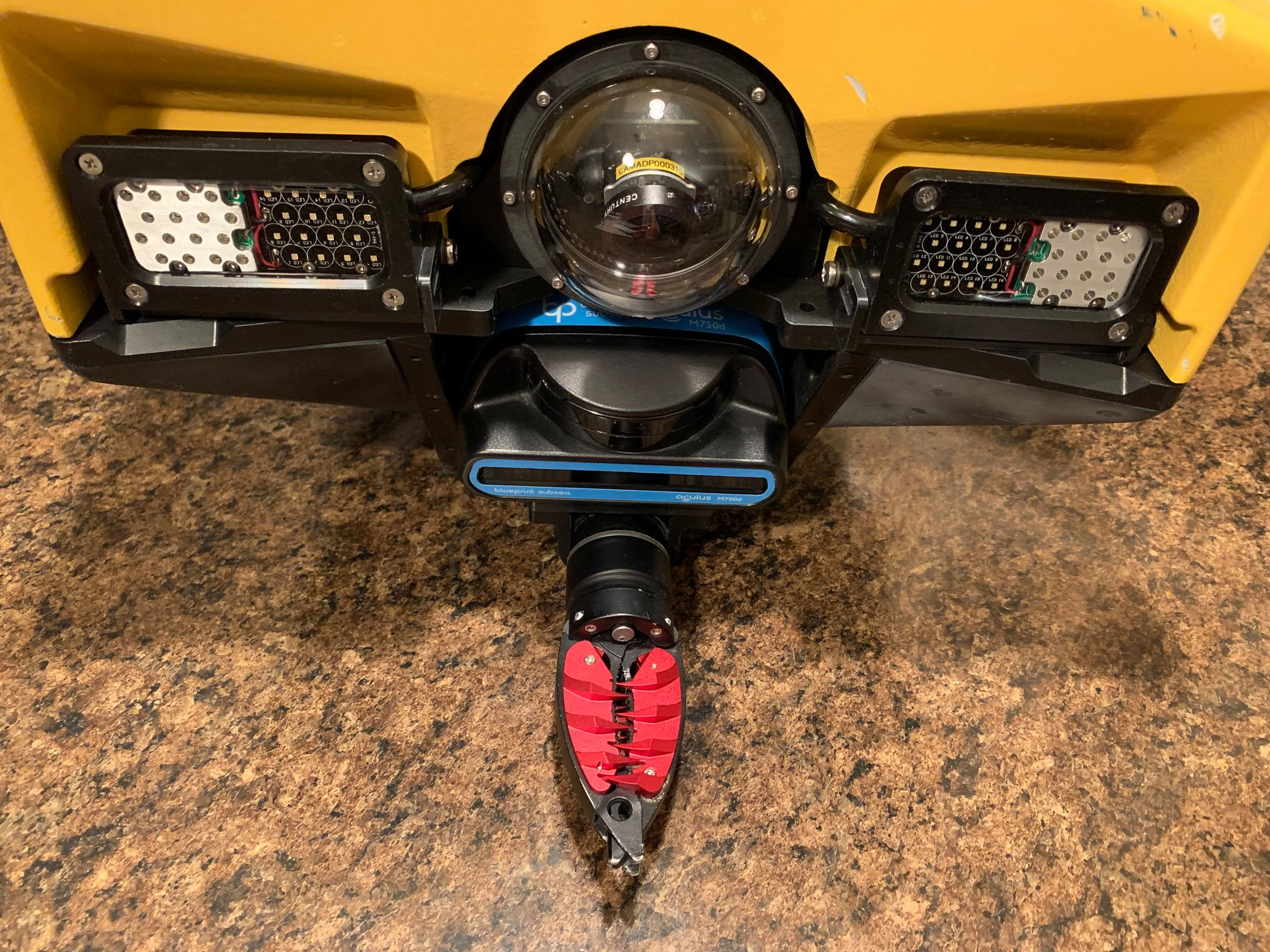 Special Recovery tool integrated on Video Ray Pro5 ROV