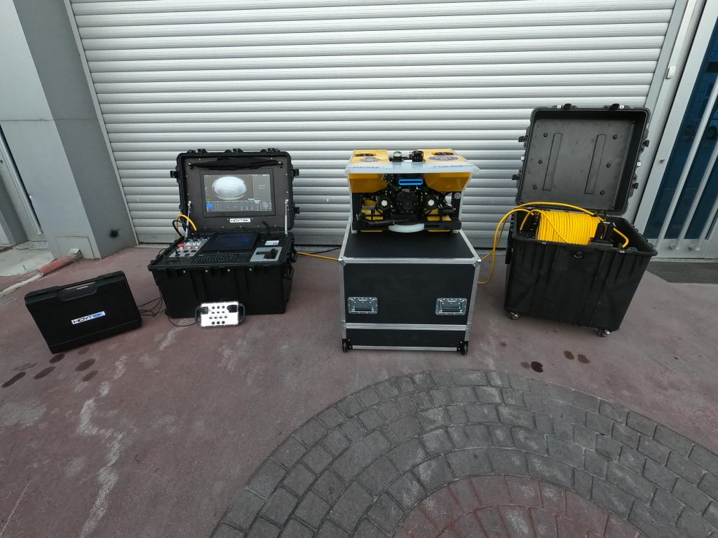 Search and Recovery (SAR) equipment setup