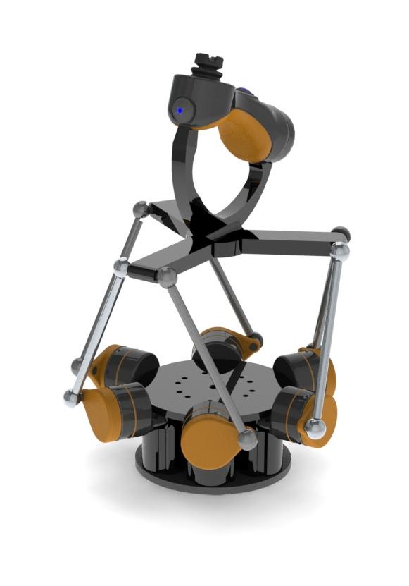 Prototype human-machine interface (HMI) controller to pair with Blueprint Lab manipulators