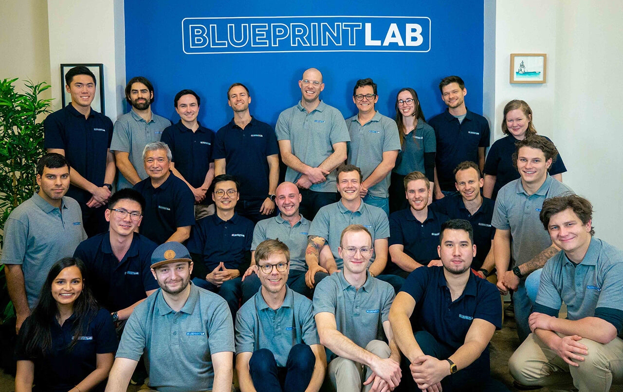 The team at Blueprint Lab