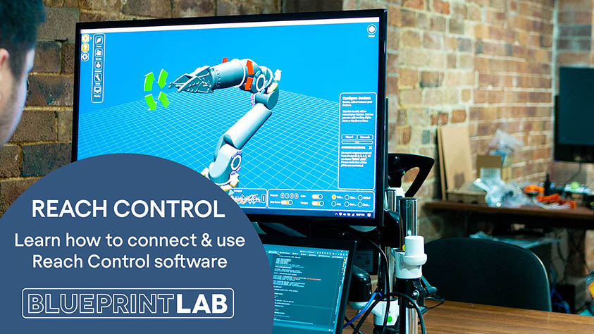 Reach Control Tutorial | Learn to Navigate the Software and Control Your Manipulator