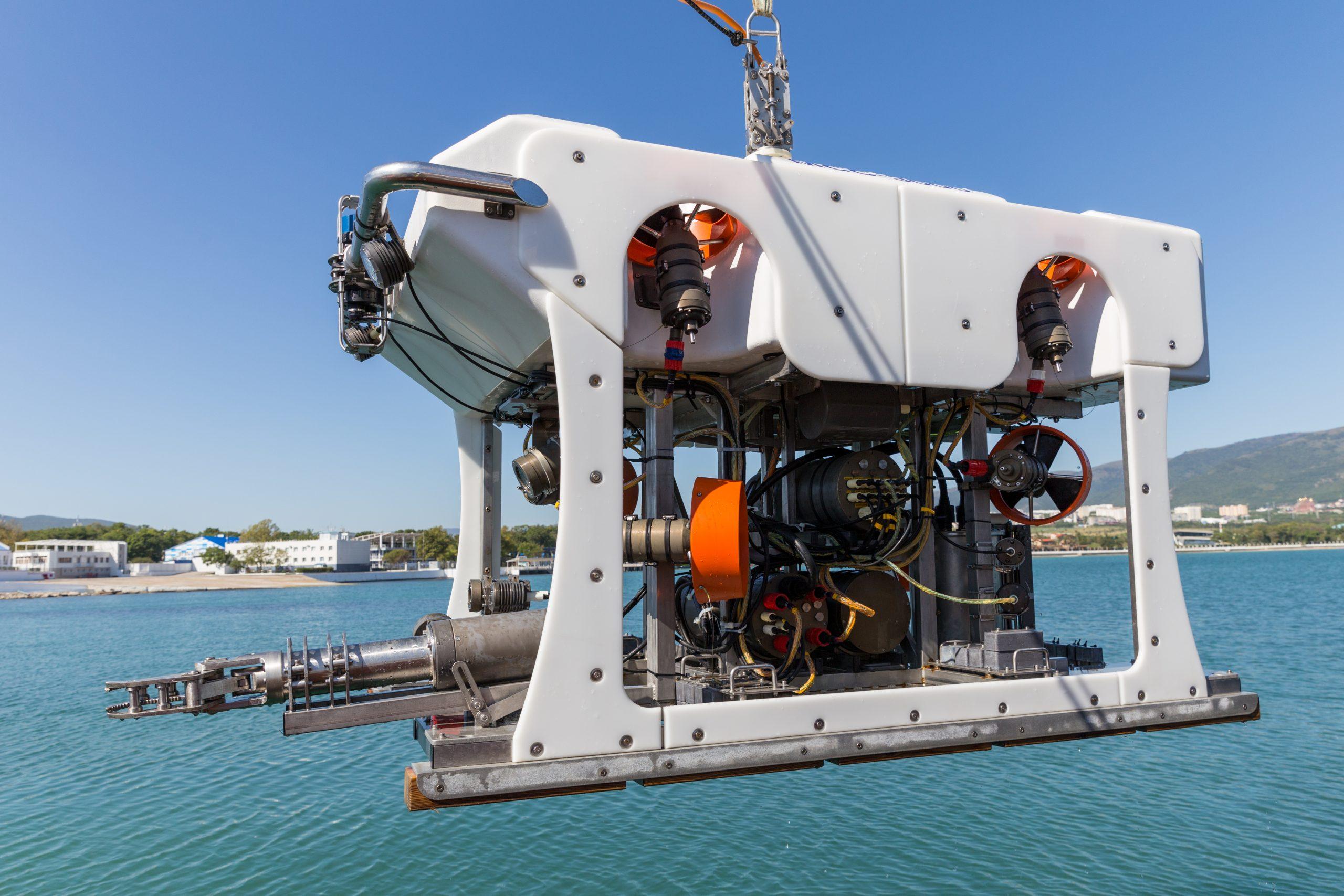 ROV: Underwater inspection
